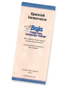 Brochure for the Spanish Immersion School